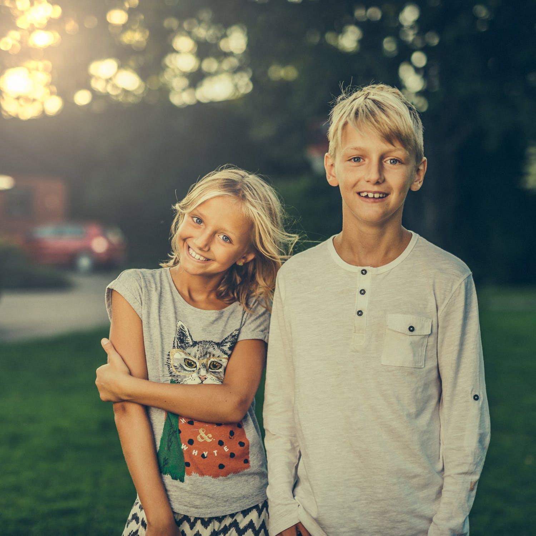 Søskende hygge
