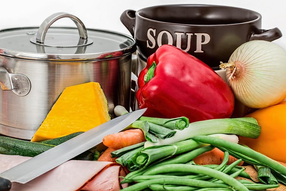 Køkken og råvarer