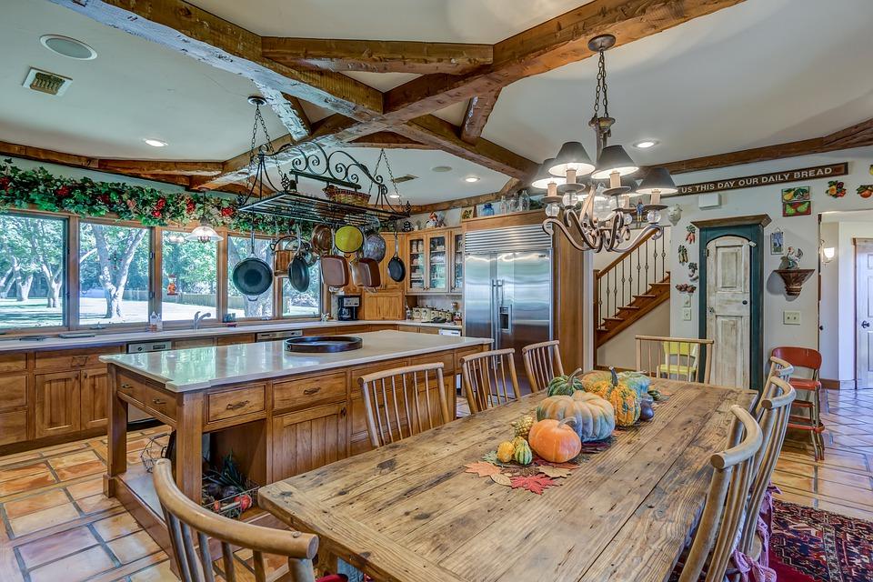 plankebord i hjem